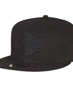 Čepice New Era 9FIFTY LA Lakers - Black on Black