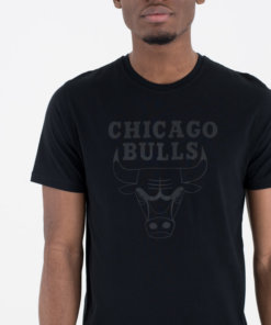 Tričko New Era - Chicago Bulls BLK