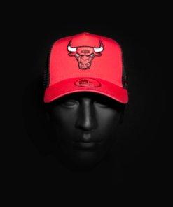 Čepice NewEra Trucker - Chicago Bulls