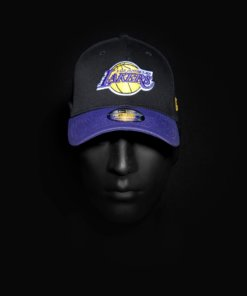 Čepice New Era 39THIRTY LA Lakers - TEAM Black