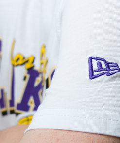 Tričko New Era NBA apparel LA Lakers