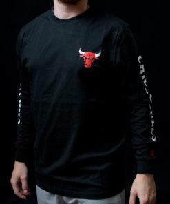 Tričko New Era NBA ls Chicago Bulls