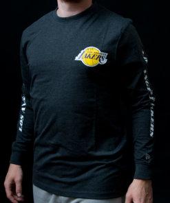 Tričko New Era NBA ls LA Lakers