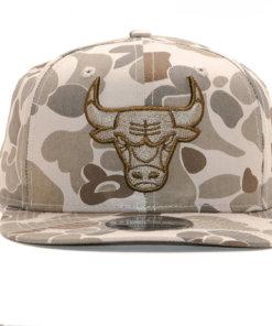 Čepice New Era 9FIFTY Chicago Bulls- CAMO