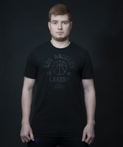 Tričko New Era - league net logo tee GSW